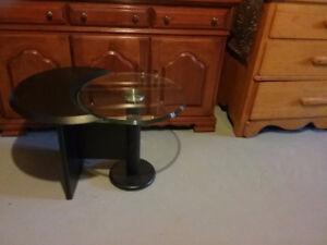 Tables de salon en verre trempé
