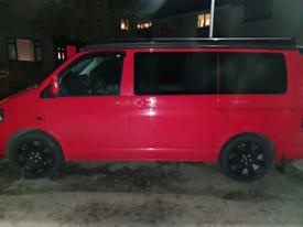 "4x Vwt5 Range Rover 20"" wheels"