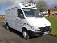 Mercedes-Benz Sprinter 413 CDI FRIDGE VAN TWIN WHEELS MWB 3.5 TON