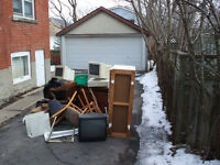 Junk Removal Pick Ups: 613-929-2929