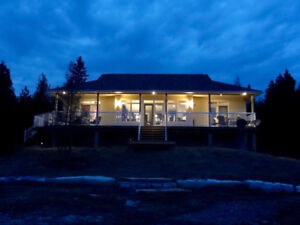 Private Waterfront Home, Custom Designed & Built, 155' on Lake