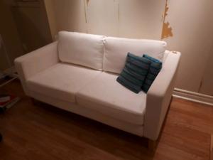 Karlstad loveseat IKEA sofa