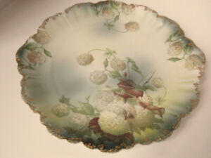 Antique Rosenthal Limoges Style Hand Painted Charger Plate