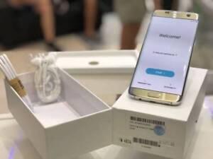 Original Galaxy s7 edge 32gb silver unlocked 2yrs Samsung Warrant Surfers Paradise Gold Coast City Preview