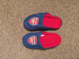 Arsenal dressing gown and slippers