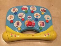 Peppa Pig interactive toy