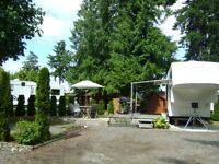 RV site for rent by the month at Avorado RV Resort.