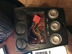double-DIn faceplate
