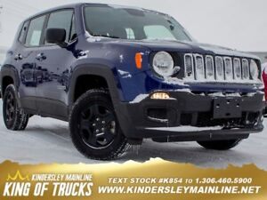 2016 Jeep Renegade Sport  -  Power Windows -  Power Doors
