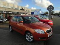 2007 (07) SKODA FABIA 1.9 TDi 5 Doors Orange Manual Climate Aloys Cruise FSH