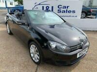 2012 Volkswagen Golf 1.6 SE TDI BLUEMOTION TECHNOLOGY 2d 104 BHP Convertible Die