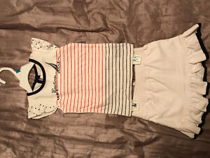 NEW! (4) Baby Girl Summer Outfits - 24 months