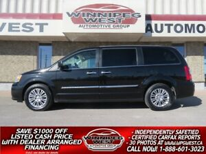 2015 Chrysler Town & Country LIMITED, HTD LEATHER, NAV, DVD, SUN