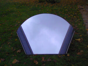 Unique shell shaped wall or dresses mirrors