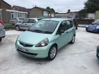 Honda Jazz 1.3 5dr mint condition great drive