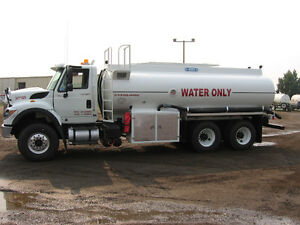 Water Trucks & Gravel Trucks for Rent