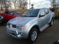 2008 Mitsubishi L200 2.5DI-D 4WD Double Cab Pickup Animal NO VAT