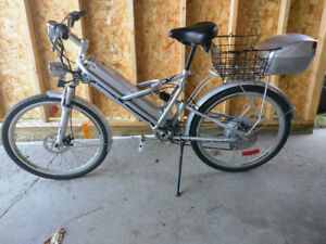 Full Suspension Electric Bicycle (E-BIKE) with new batteries