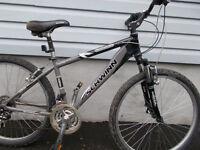 schwinn hard tail mountain bike 6601 aluminum farme