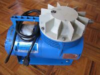 Diaphragm compressor.
