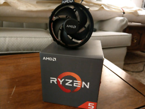 AMD Ryzen 5 1500x 4 Core Processor - Like New