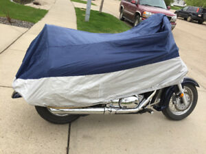 Motorcycle rain or dust cover