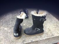 Genuine Ugg boots - size 10 (girls) - very good condition