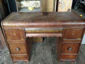 1940s Dressing Table Dresser Vintage Antique $150