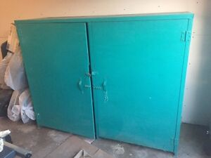 Steel cabinet for the garage