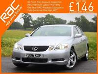 2006 Lexus GS GS300 3.0 SE-L 6 Speed Auto Sunroof Sat Nav Rear Cam Bluetooth Ful