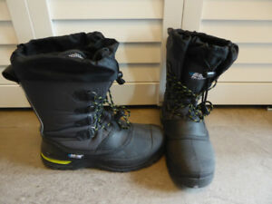 Boys Baffin Winter Boots Size 7