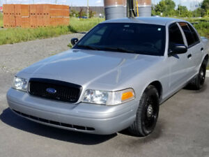 Ford Crown Victoria police pack 2010