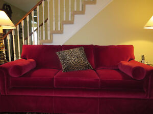 BARRYMORE SOFA ** LUXE ** JEWEL** VELVET **