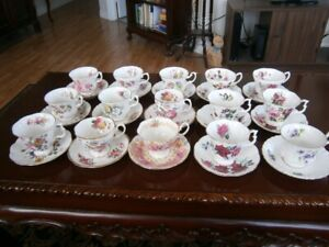 BEAUTIFUL ROYAL ALBERT TEACUPS AT $9.00 EACH