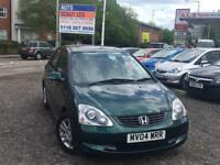 2004 Honda Civic 1.6 i-VTEC Executive 5dr