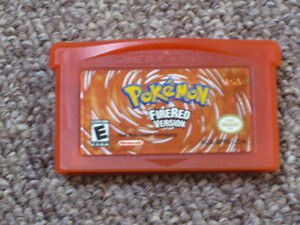 Pokemon FireRed for Nintendo Gameboy Advance GBA