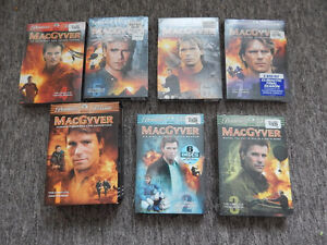 MacGyver Complete TV Series on DVD