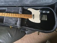 Fender Telecaster with road case