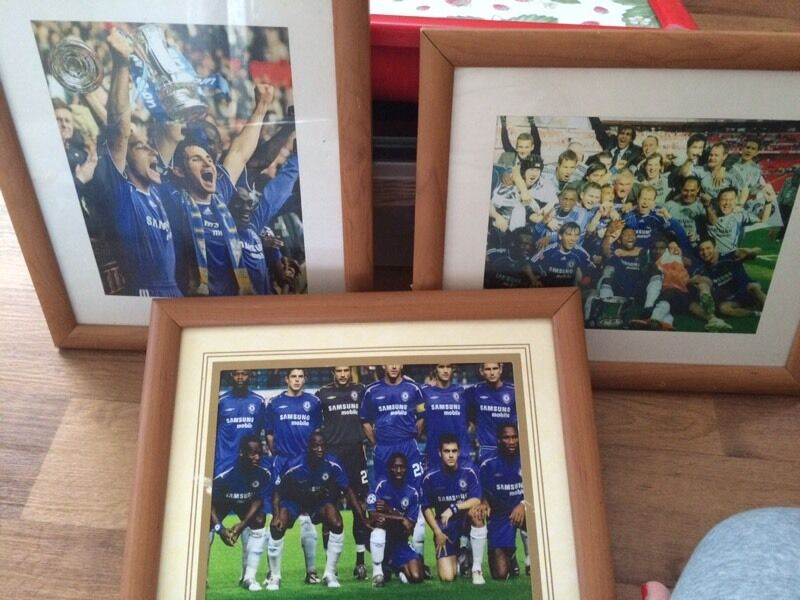 Chelsea FC photosin Plymouth, DevonGumtree - Chelsea FC framed photos, good for collectors or anyone who supports Chelsea. Want £2 for all 3