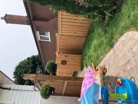 OSHAWA Durham Region Landscaping Fence Deck Trees Interlock