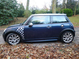 Mini 1.6 Cooper S Checkmate L/Edition,JCW B/kit,Blue LEATHER
