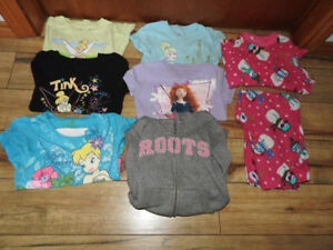 Girls size five various clothing items