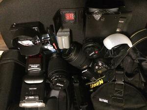 Nikon D90 full kit.