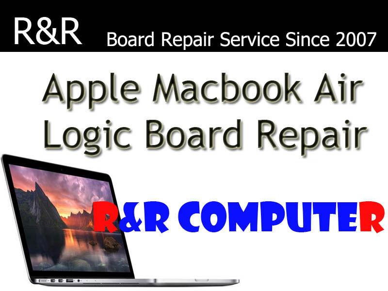 MacBook Air A1466 2013 2014 2015 820-3437 820-00165 Logic Board Repair Service
