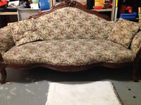 100 year old antique sofa for amazingly low price of $300
