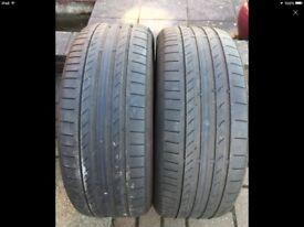 4 X 225/50/R17 tyres