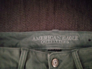 Khaki American Eagle Shorts Girls Shorts