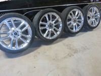 Ford/Lincoln Chrome Wheels & Tire  for sale