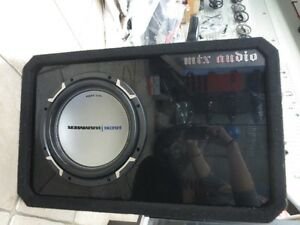 "MTX Audio Jack Hammer 10"" Sub/Subwoofer need gone come get it"