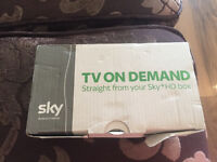 Sky tv on demand box